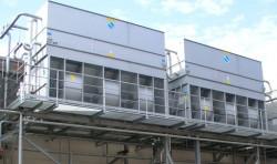 Evaporative Condenser Installation